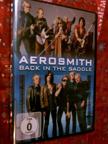 AEROSMITH BACK IN THE SADDLE SIEHE BILDER