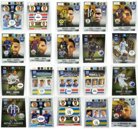 PANINI ADRENALY XL FIFA 365 2017 NORDIC EDITION AUSSUCHEN CHOOSE