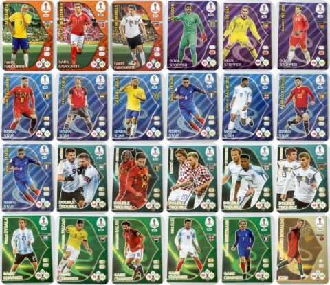 PANINI ADRENALYN XL WORLD CUP 2018 RUSSIA AUSSUCHEN CHOOSE