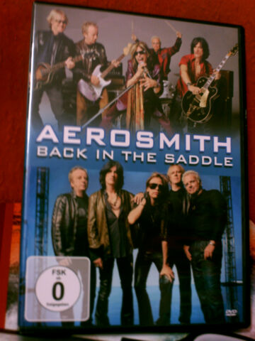 AEROSMITH BACK IN THE SADDLE