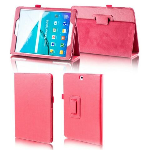 F R SAMSUNG GALAXY TAB S5E 10 5 T720F ROT KUNST LEDER H LLE COVER TASCHE ETUIS