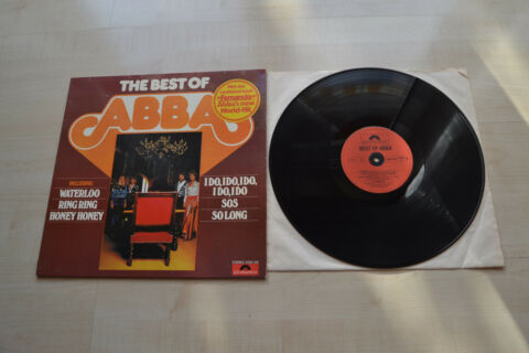 ABBA THE BEST OF ABBA POLYDOR GERMANY TOP SAMPLER