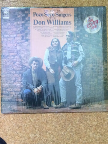 THE BEST OF POZO SECO SINGERS WITH DON WILLIAMS LP