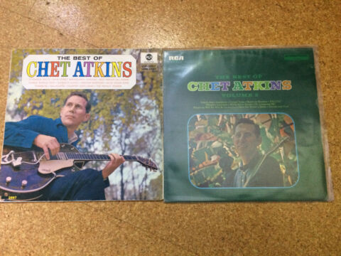 CHET ATKINS THE BEST OF THE BEST OF VOL 2 2 LPS