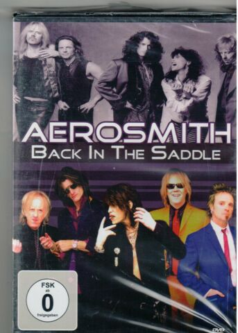 AEROSMITH BACK IN THE SADDLE ROCK MUSIK DVD 15 TRACKS