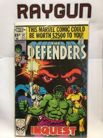 DEFENDERS VOL 1 87 VG 1 AUFDRUCK MARVEL COMICS