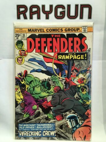 DEFENDERS VOL 1 18 VG FN 1 AUFDRUCK MARVEL COMICS