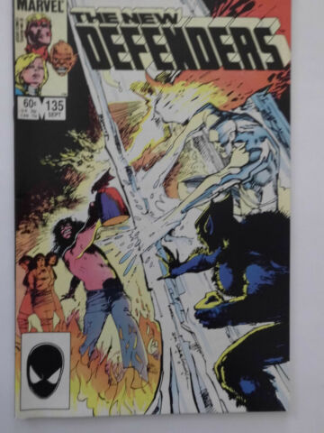 THE NEW DEFENDERS NR 135 US MARVEL COMIC SEPT 1984