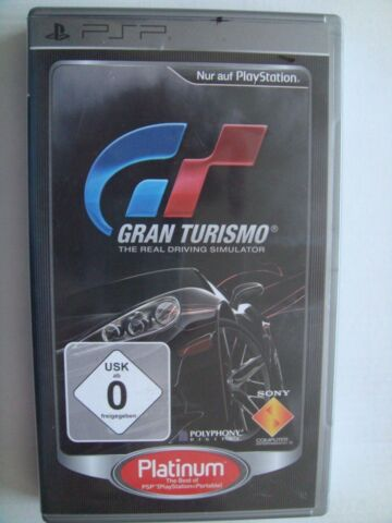 PLAYSTATION SONY GRAN TURISMO PLATINUM THE BEST OF PSP
