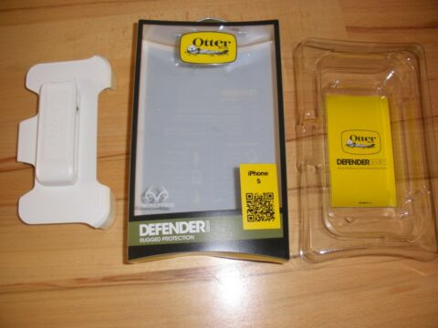 OTTER BOX DEFENDER HOLSTER MIT G RTELCLIP F R IPHONE 5 FARBE WEI