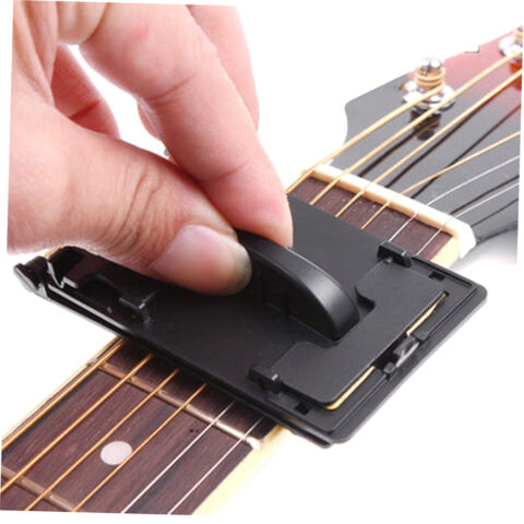 GUITAR BASS STRINGS SCRUBBER FRETBOARD CLEANER INSTRUMENT BODY CLEANING TOOL S5