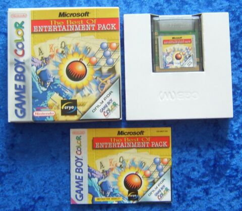 MICROSOFT THE BEST OF ENTERTAINMENT PACK NINTENDO GAMEBOY COLOR SPIEL OVP ANL