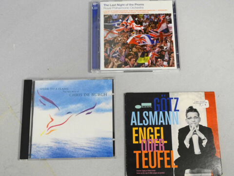 LAST NIGHT OF THE PROMS CHRIS DE BURH G TZ ALSMANN 3 ST CK CD