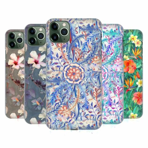 OFFICIAL MICKLYN LE FEUVRE FLORALS HARD BACK CASE FOR APPLE IPHONE PHONES