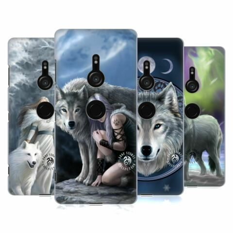 OFFICIAL ANNE STOKES WOLVES HARD BACK CASE FOR SONY PHONES 1