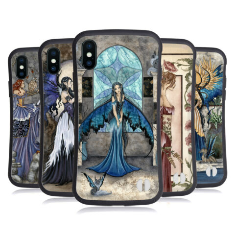 OFFICIAL AMY BROWN FAIRIES HYBRID CASE FOR APPLE IPHONES PHONES