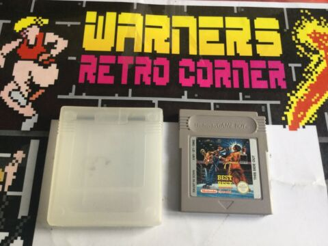 BEST OF THE BEST GAMEBOY GB NINTENDO UNBOXED RETRO RETROGAMING GAME COLOR