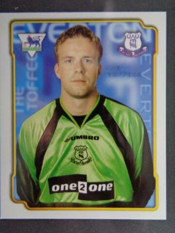 MERLIN PREMIER LEAGUE 99 THOMAS MYHRE EVERTON 192