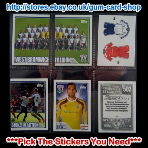 MERLIN S PREMIER LEAGUE 2015 500 TO 542 SELECT THE AUFKLEBER YOU NEED