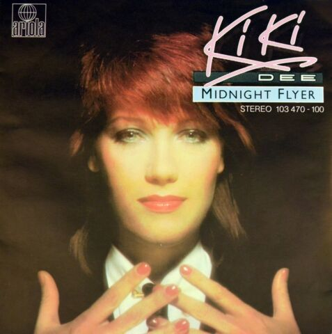 7 KIKI DEE MIDNIGHT FLYER THE CHASE IS FINALLY ON ARIOLA ORIG 1981 LIKE NEW
