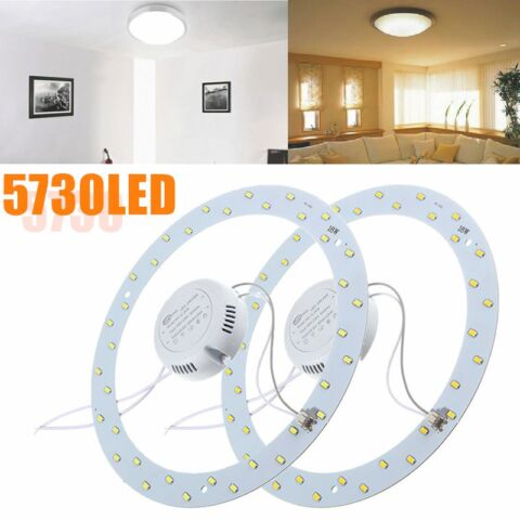 18W 5730 LED PANEL CIRCLE ANNULAR CEILING LIGHT FIXTURE BOARDS LAMP REPLACEMENTS EEK A