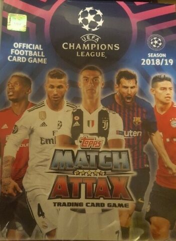 MATCH ATTAX CHAMPIONS LEAGUE 18 19 LIMITED EDITION LE15 UPDATE FINALS SUPERSTAR
