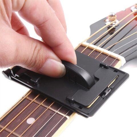 GUITAR BASS STRINGS SCRUBBER FRETBOARD CLEANER INSTRUMENT BODY CLEANING TOOLKOV