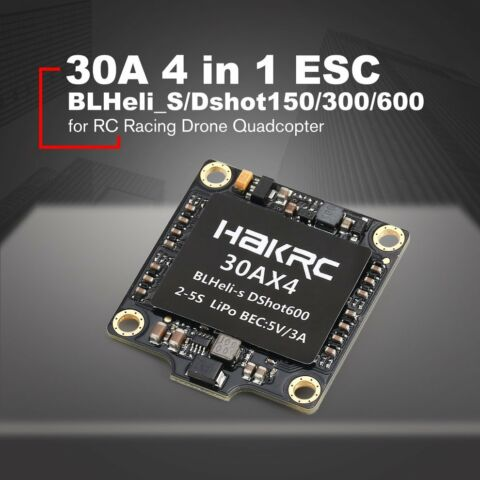 30A 4 IN 1 DSHOT150 300 600 ESC FOR RC RACING DRONE QUADCOPTER 2