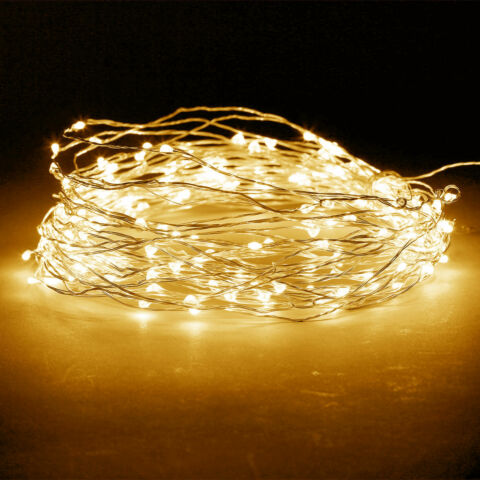 20 30 50 100 LED STRING FAIRY LIGHTS WIRE BATTERY POWERED WATERPROOF DIY DECNT
