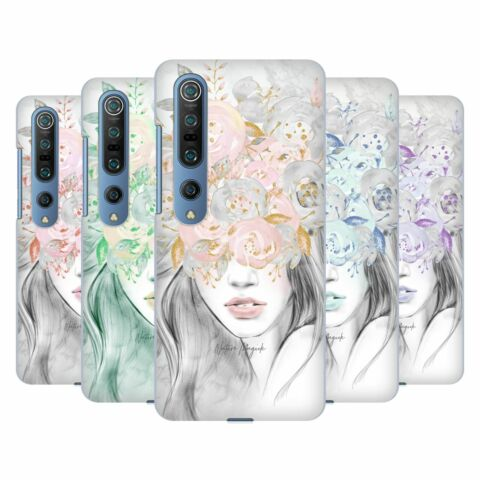 OFFICIAL NATURE MAGICK GIRL WITH FLOWERS IN HER HAIR BACK CASE FOR XIAOMI PHONES