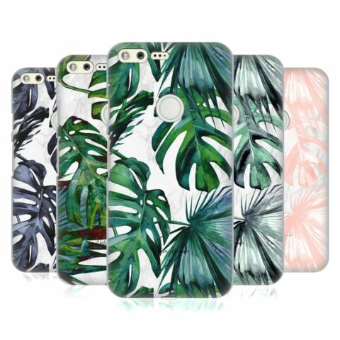 OFFICIAL NATURE MAGICK TROPICAL PALM LEAVES ON MARBLE CASE FOR GOOGLE PHONES