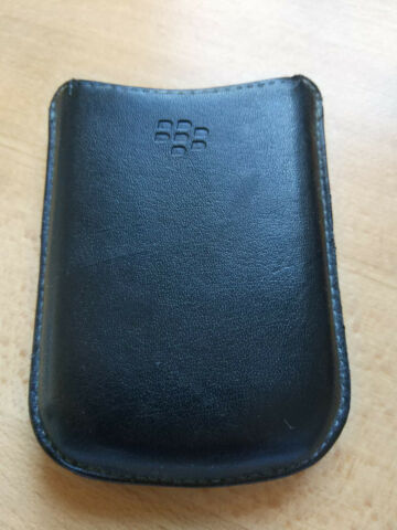 ORIGINAL BLACKBERRY LEDERTASCHE POUCH CASE COVER WALLET F BLACKBERRY CURVE 8900