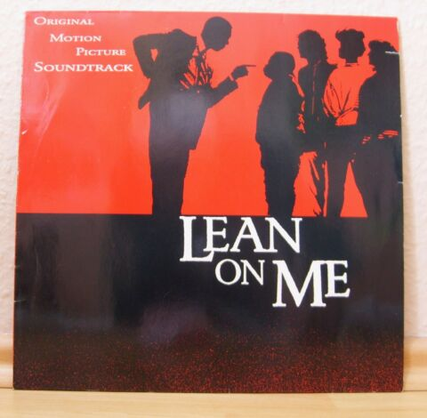 SCHALLPLATTE LEAN ON ME SOUNDTRACK 1989
