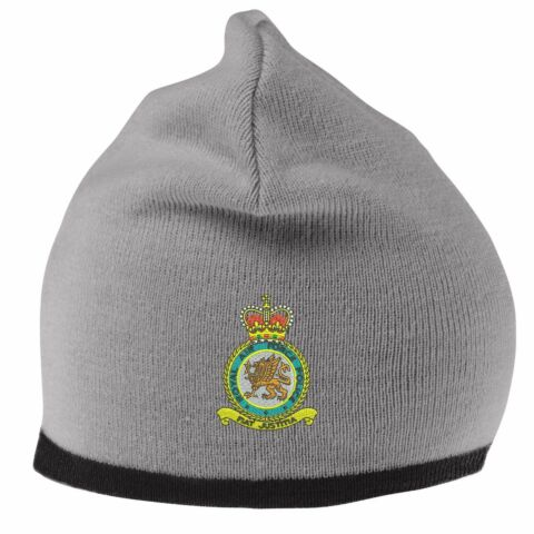 RAF POLICE BEANIE HAT WITH EMBROIDERED LOGO