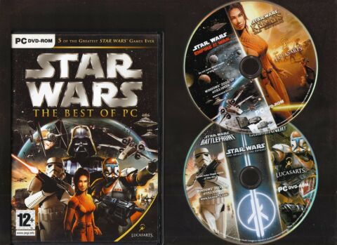 STAR WARS THE BEST OF PC 5 OF THE GREATEST STAR WARS GAMES EVER FOR THE PC
