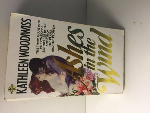 ASHES IN THE WIND KATHLEEN E WOODIWISS PAPERBACK ENGLISH TASCHENBUCH