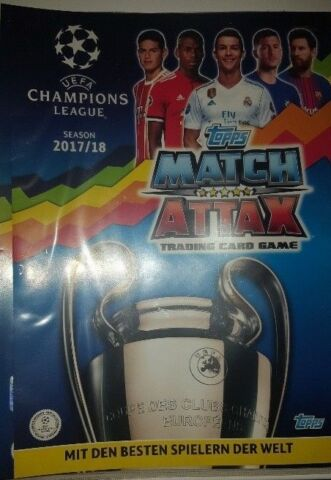 MATCH ATTAX CHAMPIONS LEAGUE 17 18 LIMITED EDITION NORDIC SUPERSTAR SPEEDSTERS