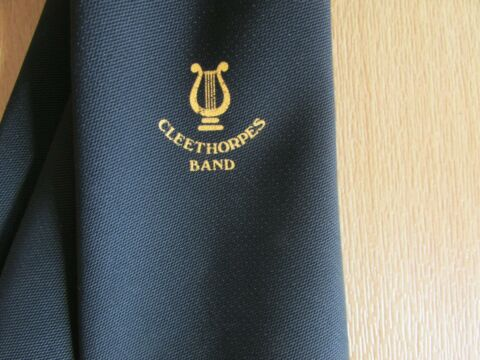 CLEETHORPES BAND TIE BY YORKSHIRE UNIFORMS