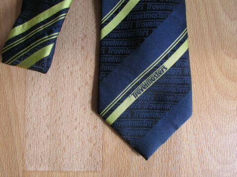 TRAVELMASTERS TRAVEL MASTERS STAFF COMPANY ISSUE TIE BY SELECT UNIFORMS