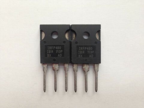 IRFP460 MOSFET N CHANNEL POWER MOSFET 20A 500V 0 270OHM 2 ST CK