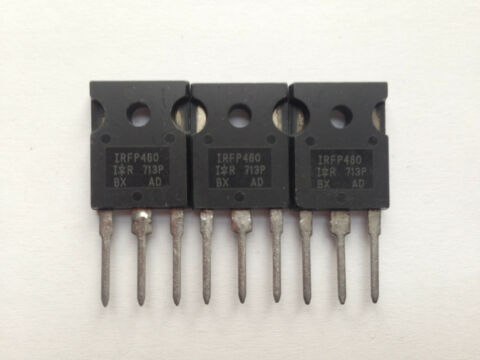 IRFP460 MOSFET N CHANNEL POWER MOSFET 20A 500V 0 270OHM 3 ST CK
