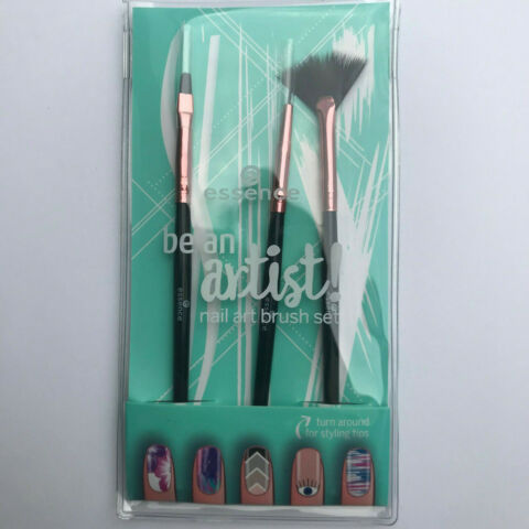ESSENCE BE AN ARTIST NAIL ART BRUSH SET NAILART PINSEL SET 3 ER SET NEU
