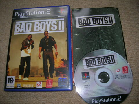 BAD BOYS II RARE SONY PS2 GAME