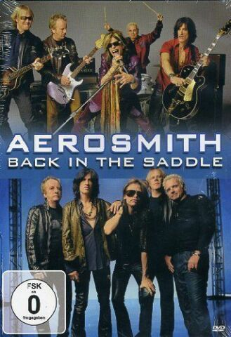 AEROSMITH DVD BACK IN THE SADDLE LIVE DVD