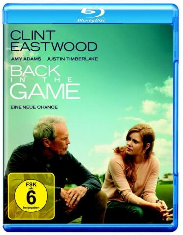 BACK IN THE GAME EINE NEUE CHANCE 2013 CLINT EASTWOOD JUSTIN TIMBERLAKE