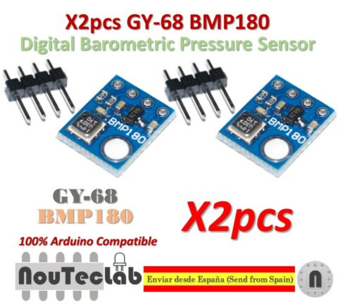 2PCS GY 68 BMP180 REPLACE BMP085 DIGITAL BAROMETRIC PRESSURE SENSOR FOR ARDUINO
