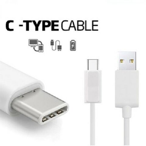 SAMSUNG GALAXY S8 NOTE 8 A3 A5 FAST CHARGER USB DATA CABLE TYPE C LEAD SYNC