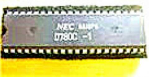 NEC UPD780C DIP 40 HIGH PERFORMANCE CP M COMPATIBLE NMOS