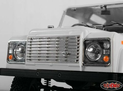 LAND ROVER DEFENDER D90 FRONT GRILL AND LIGHT ASSEMBLY RC4WD RC4ZB0051 Z B0051
