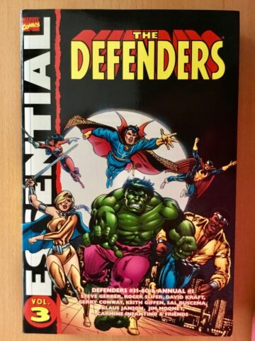 THE DEFENDERS ESSENTIAL VOL 3 MARVEL TPB 2007